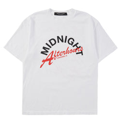 WHITE AFTERHOURS T- SHIRT