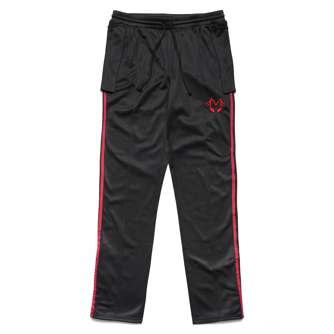 MUSIC NOTE TRACK PANT (BLACK)