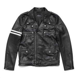 LAMBSKIN RIDERS JACKET (BLACK)