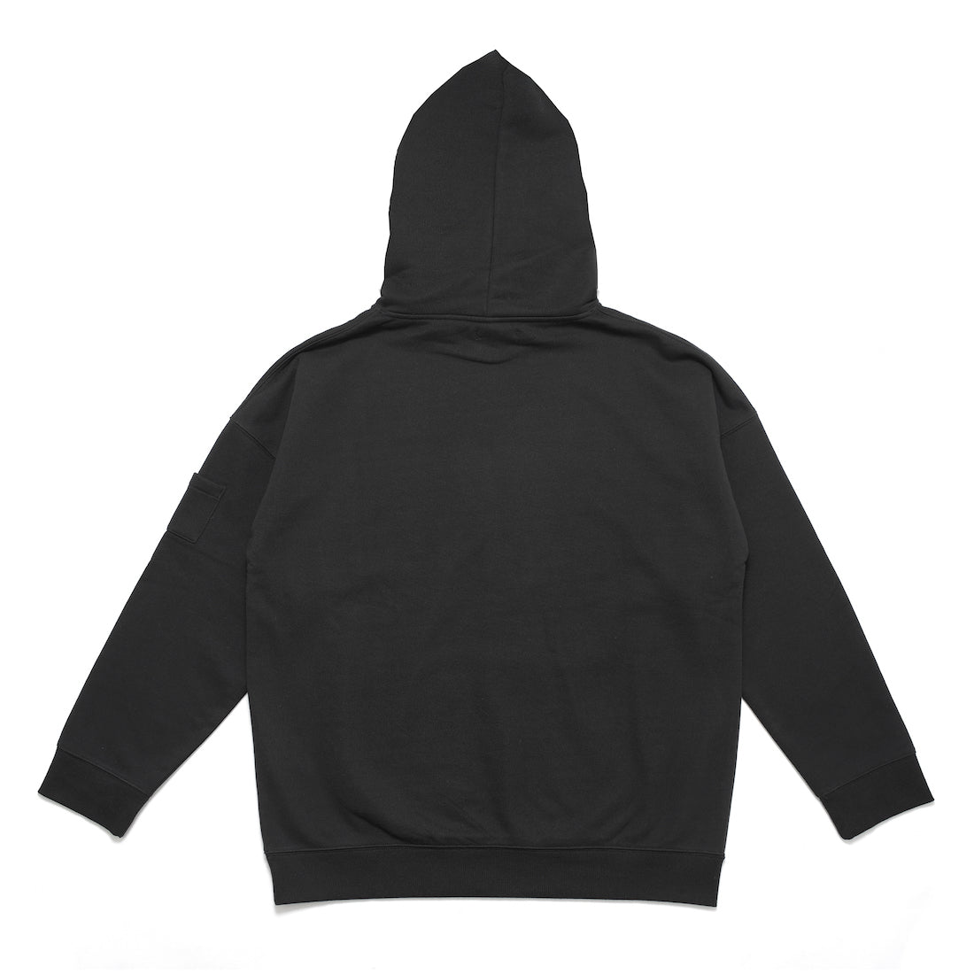 CALL THE CURTAIN PULLOVER HOODY (BLACK)