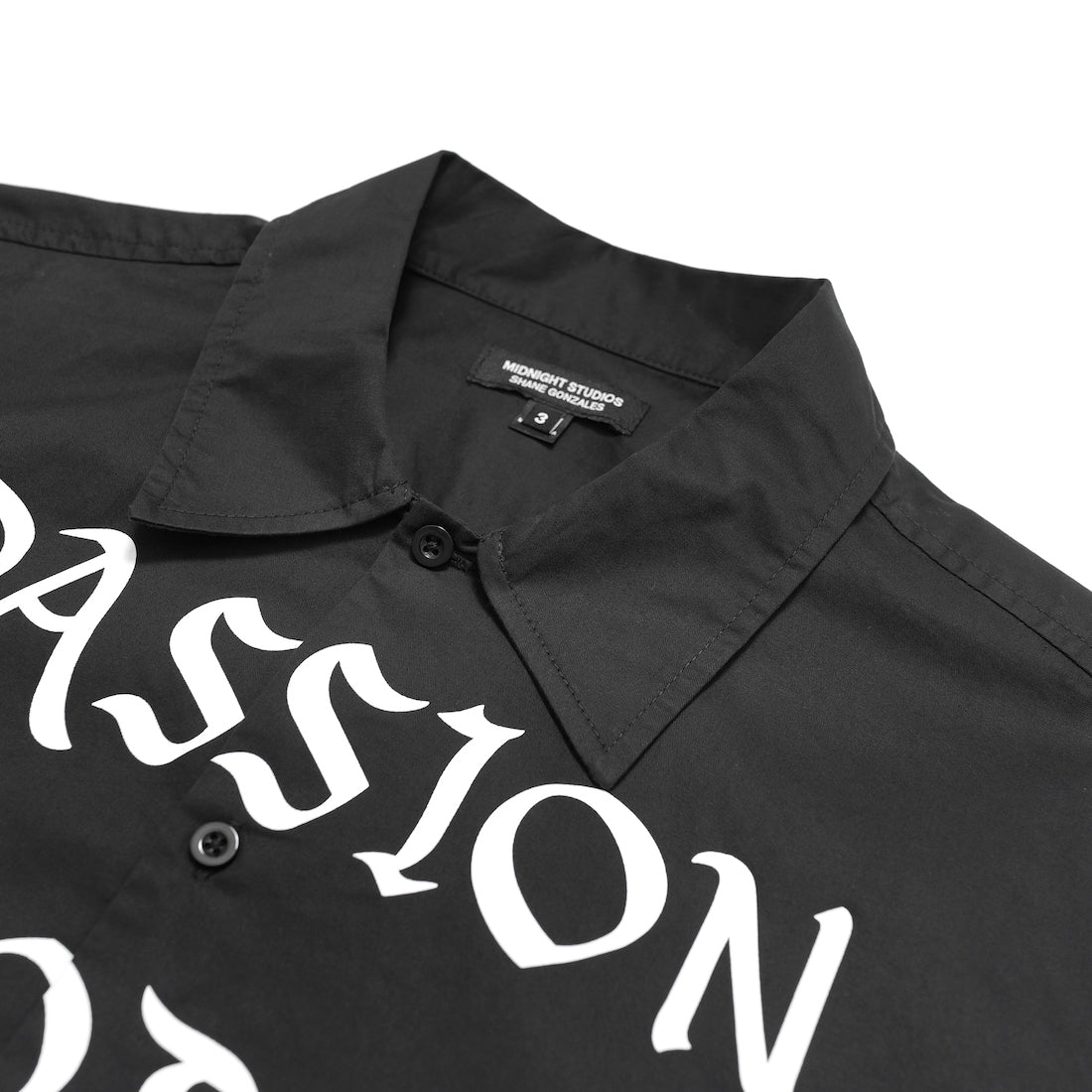 PASSION OF LOVERS DRESS SHIRT (BLACK)