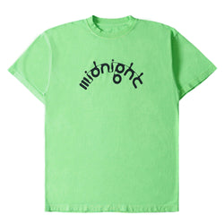 GREEN MIDNIGHT STUDIOS X APHEX M-FLOW LOGO T-SHIRT
