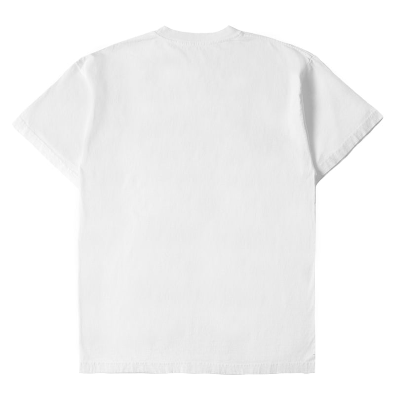 WHITE MIDNIGHT STUDIOS X APHEX M-FLOW LOGO T-SHIRT