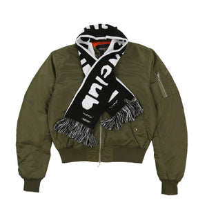 MIDNIGHT FANCLUB MA-1 BOMBER JACKET (GREEN)