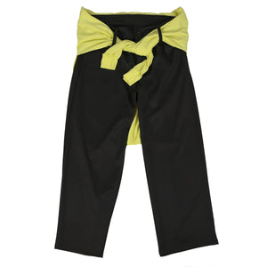 NEVERMIND THE BOLLOCKS WIDE LEG PANT (BLACK)