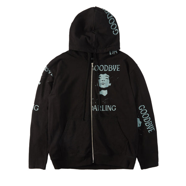 GOODBYE DARLING RECONSTRUCTED HOODIE