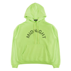 ELECTRIC GREEN CRYSTAL LOGO HOODIE
