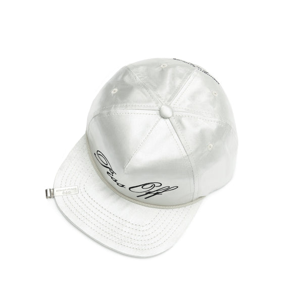 SILVER PISS OFF HAT