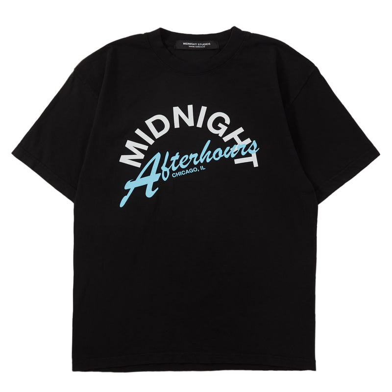 BLACK AFTERHOURS T- SHIRT