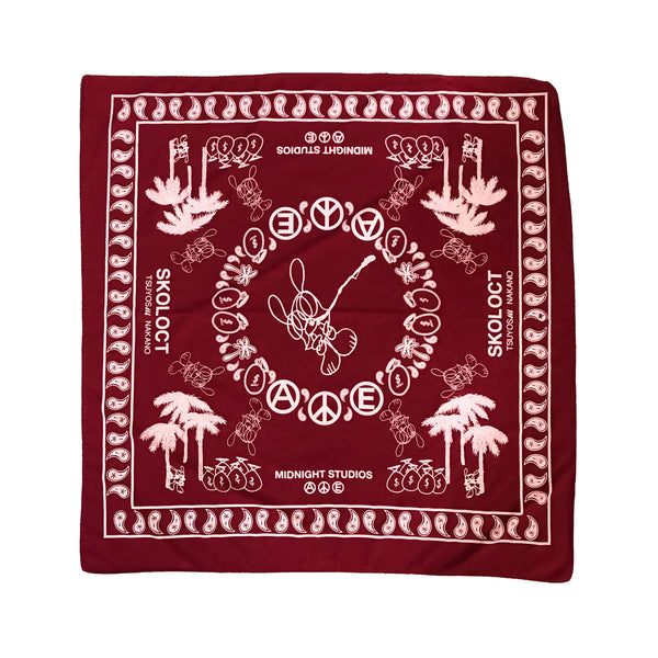 RED MIDNIGHT STUDIOS x SKOLOCT BANDANA
