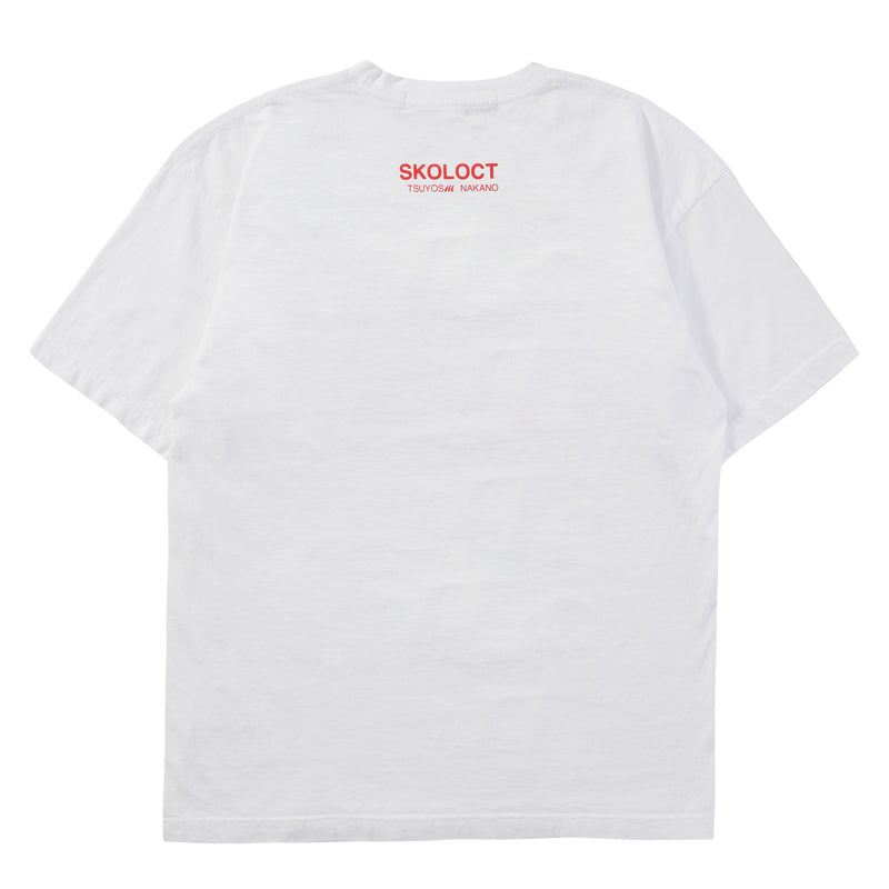 WHITE MIDNIGHT STUDIOS x SKOLOCT T-SHIRT
