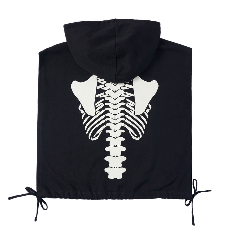 BLACK X-RAY HOODED BIB