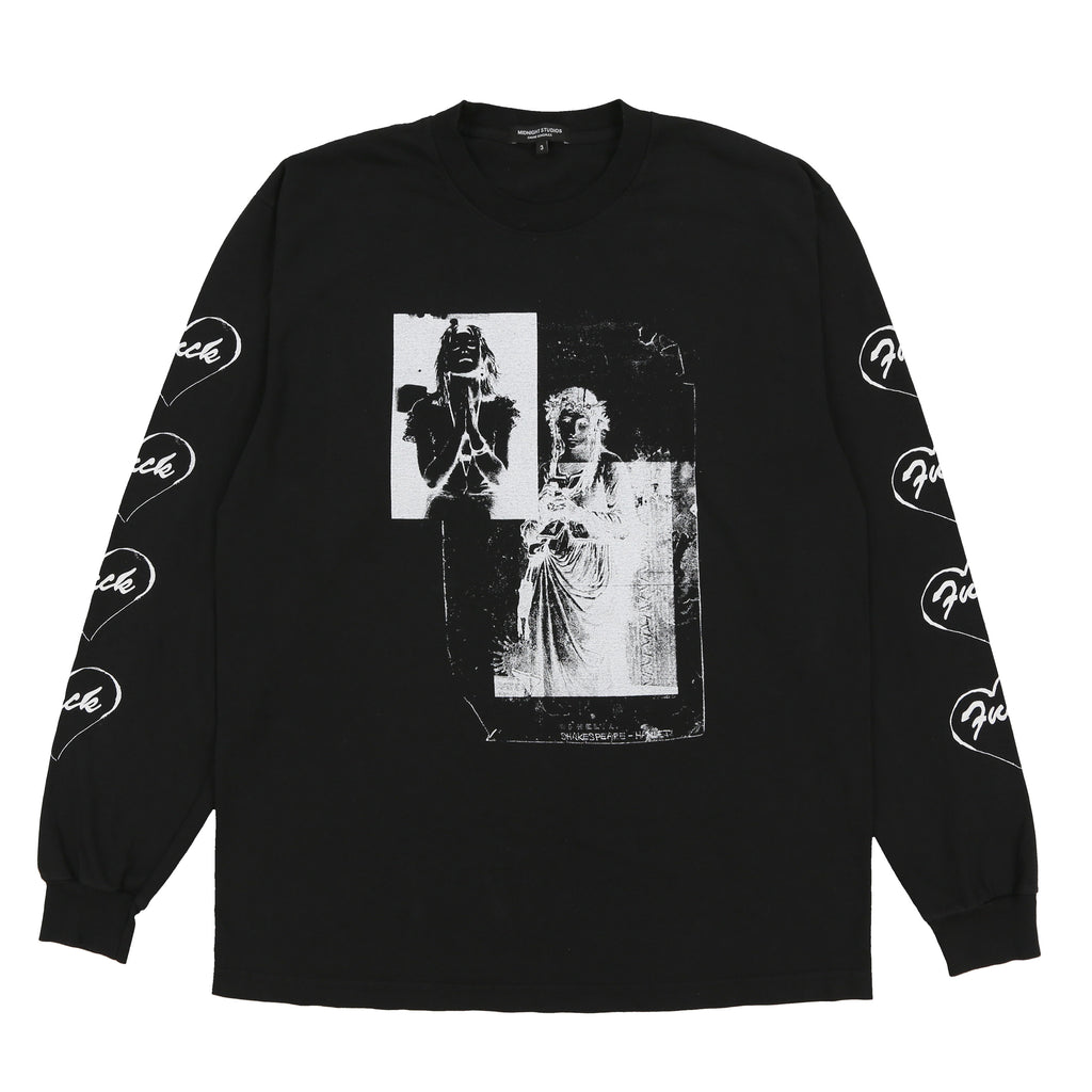 SHAKESPEARE L/S T SHIRT (BLACK)