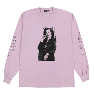 BEST FRIEND L/S T SHIRT (PINK)
