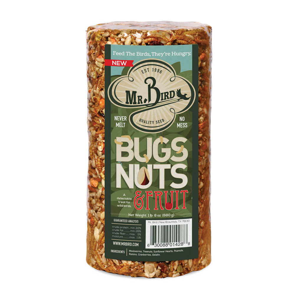 Bugs, Nuts, & Fruit - Small Cylinder