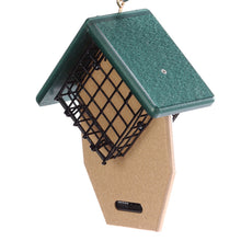 Load image into Gallery viewer, Recycled Suet Feeder - Double - Tail Prop