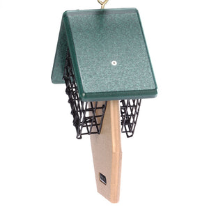 Recycled Suet Feeder - Double - Tail Prop