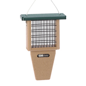 Recycled Suet Feeder - Single - Tail Prop