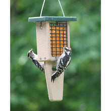 Load image into Gallery viewer, Recycled Suet Feeder - Single - Tail Prop