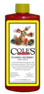 Flaming Squirrel Seed Sauce