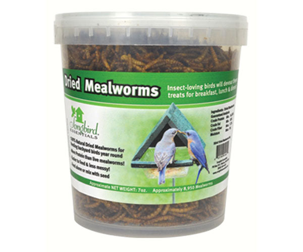 Dried Mealworms - Tub