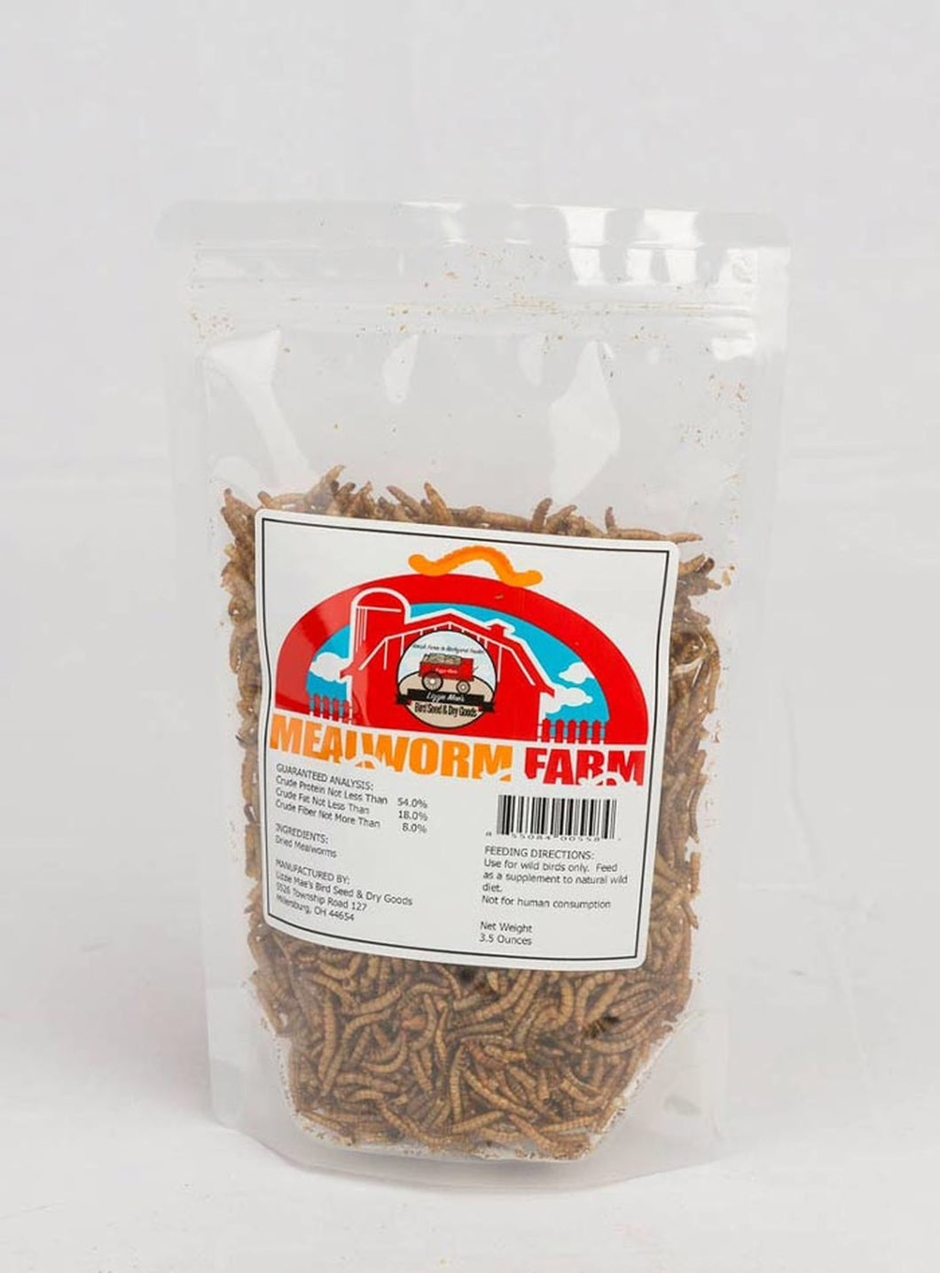 Dried Mealworms - Bag