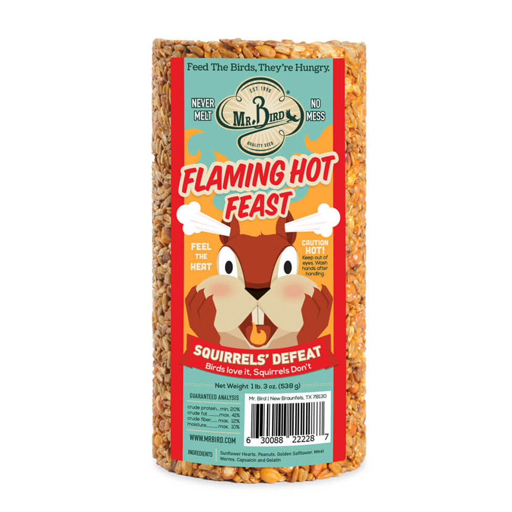 Flaming Hot Feast - Small Cylinder