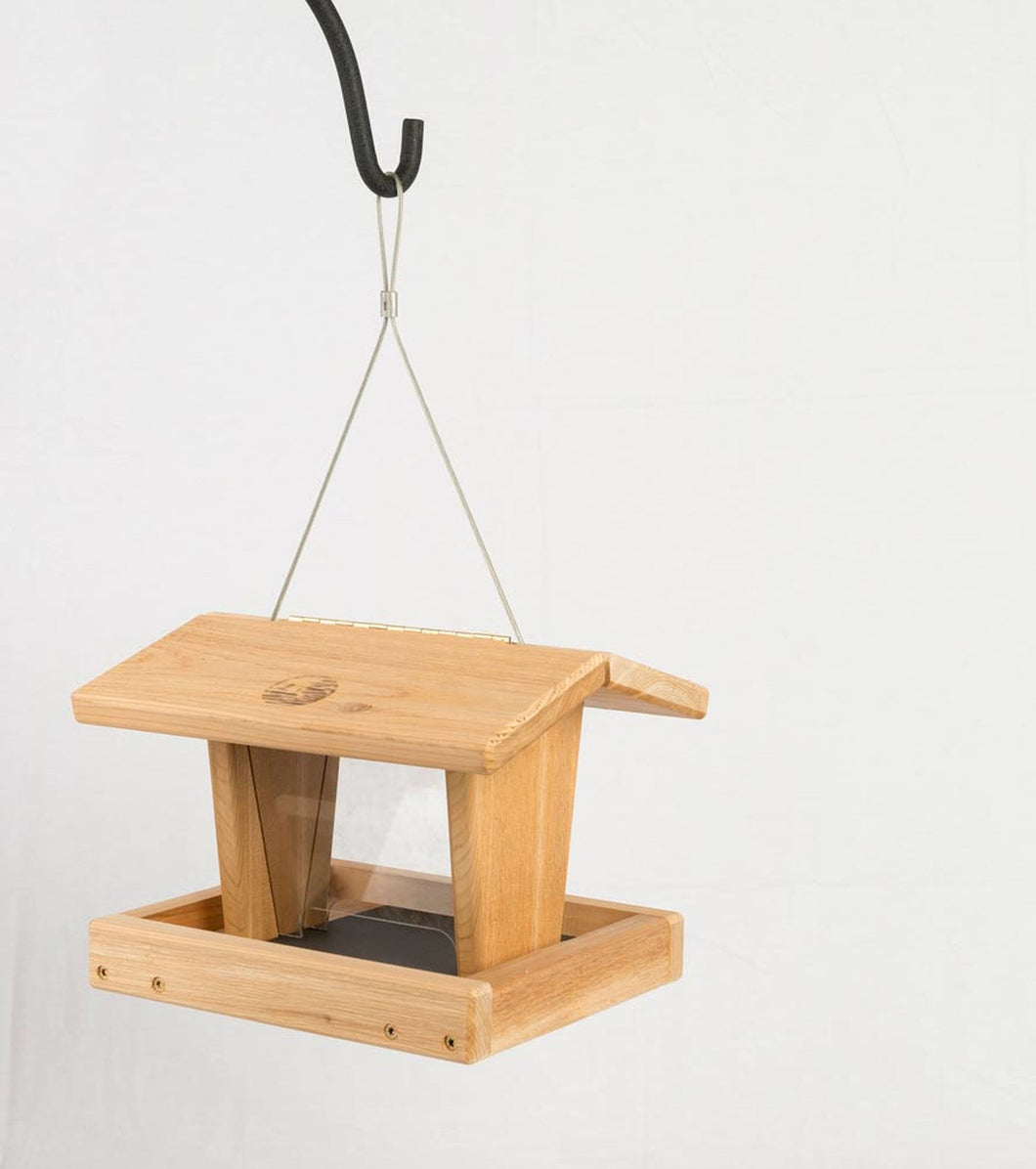 Amish Hopper Feeder - Cedar