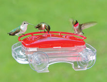Load image into Gallery viewer, Jewel Box Hummingbird Window Feeder