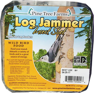 Log Jammer Insect Suet