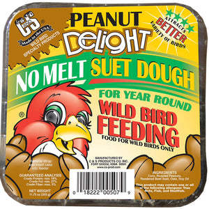Peanut Delight Never Melt Suet Dough