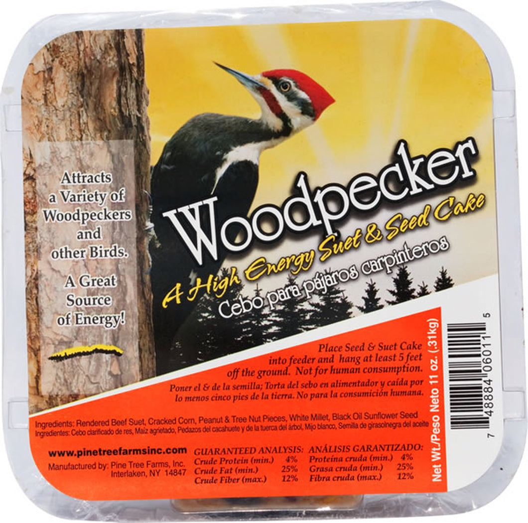 Woodpecker High Enegy Suet Cake