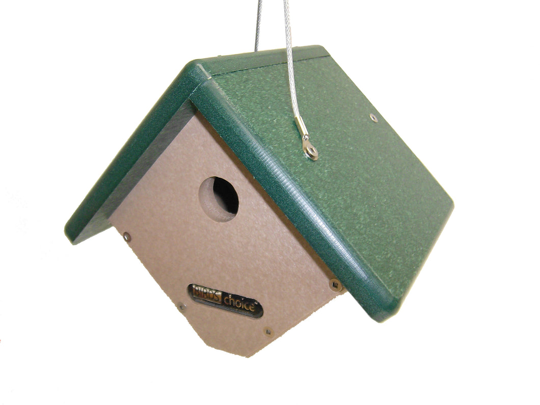 Hanging Wren House - Recycled