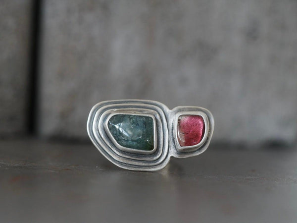 Tourmaline ring, size 7.75