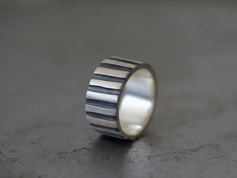 Palisade sterling silver ring, size 11