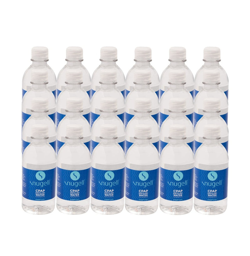 CPAP DISTILLED WATER 12 OZ (24-PACK)