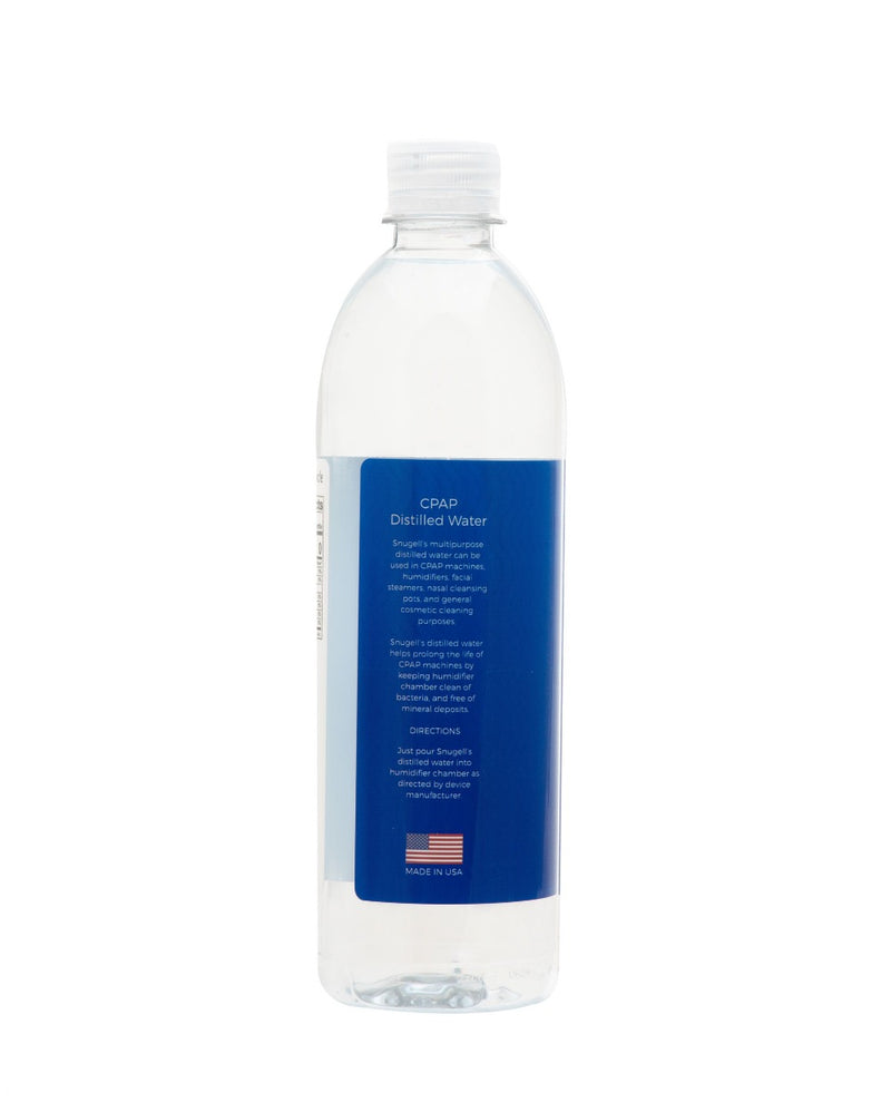 CPAP DISTILLED WATER 20 OZ (6-PACK)