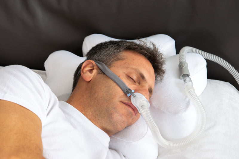 CPAP ERGONOMIC PILLOW COOLING CASE