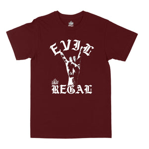 "Evil Regal ""Burgundy"" Unisex Tee"