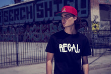 "Load image into Gallery viewer, Regal ""Night & Day"" Black Unisex Tee"