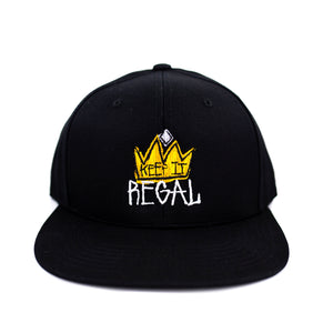 "Keep It Regal ""Black"" Snapback"
