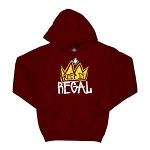 "Keep It Regal ""Burgundy"" Hoodie"