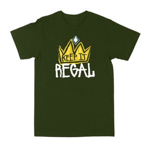 "Keep It Regal ""Olive Green"" Tee"