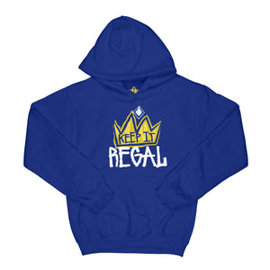 "Keep It Regal ""Royal Blue"" Unisex Hoodie"
