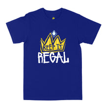 "Load image into Gallery viewer, Keep It Regal ""Royal Blue"" Unisex Tee"