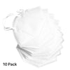 10 Pack KN95 Face Masks Dust Respirator Pollution Protection Breathable Mask Filter - HitLights