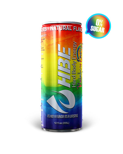 HBE RAINBOW ENERGY (SUGAR FREE)