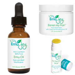 Pain relief for Lichen Sclerosus with natural ingredients and soothing emu oil.