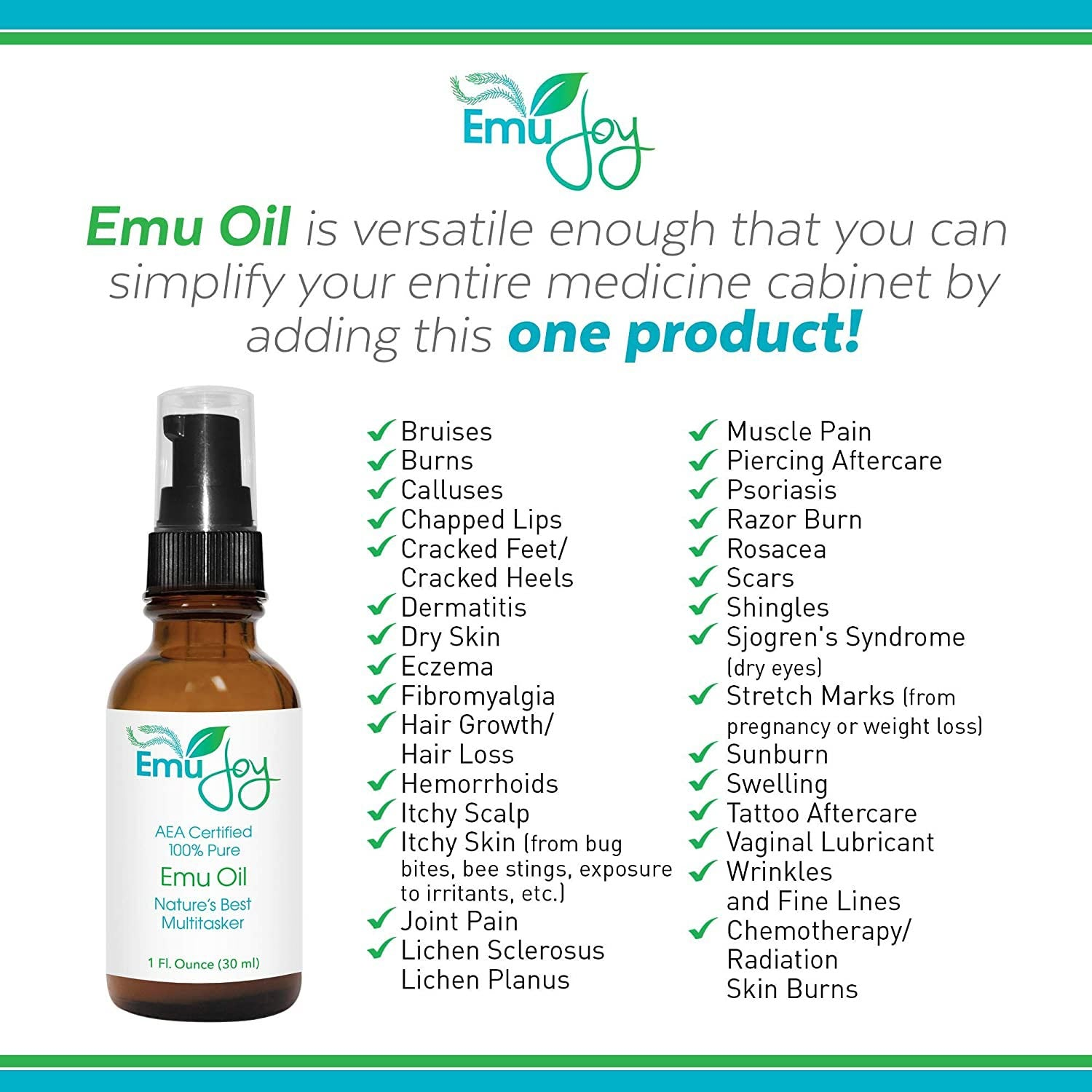 Ethically Sourced Emu Oil for Chemo & Radiation Burns