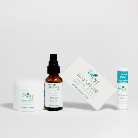 Soothe My Rash Kit from Emu Joy - Natural Organic Skincare with the benefits of emu oil and botanicals